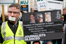 Al-Jazeera journalist on trial in Egypt