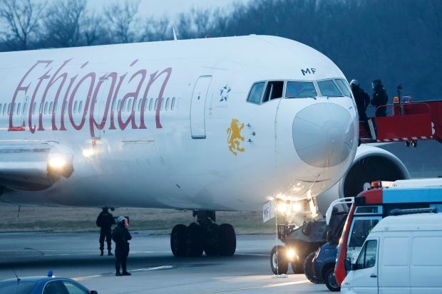 Ethiopian Airlines pilot