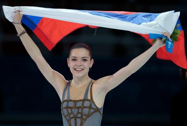 Adelina Sotnikova wins gold