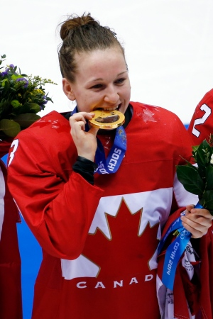 Golden day for Canada on the ice in Sochi