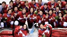Hockey gold for Canada women in Sochi