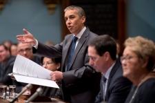 Quebec Finance Minister Nicolas Marceau