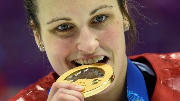 fa6e76bc878 Marie-Philip Poulin named captain of Canada s Olympic women s hockey ...