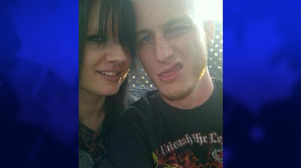 Victoria Henneberry and Blake Leggette can be seen in this undated photo from TheDirty.com. The two were arrested on Feb. 19, after the vehicle belonging to Loretta Saunders was located in Harrow, Ont. (CTV Windsor)