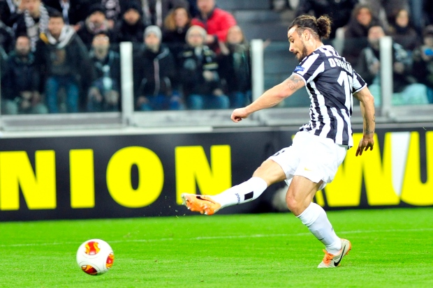 Juventus forward Pablo Osvaldo