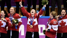 Canada's women's hockey team wins gold