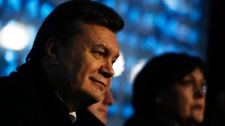 Ukrainian President Viktor Yanukovych in Sochi