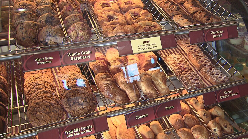 If your daily Tim Hortons fix includes a blueberry danish or a walnut crunch doughnut, you'll have to find a new favourite treat. Those are among the 24 items the coffee chain says will be discontinued as the Tim Hortons menu is revamped.