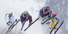 Ski cross final Canada gold and silver