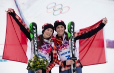 Canada total medals in Sochi gold and bronze
