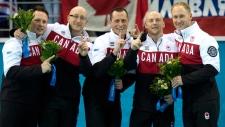 Canada curling gold