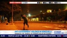 CTV News Channel: Violent protests in Venezuela