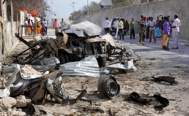 Somali presidential palace attacked