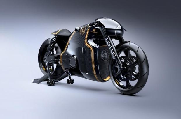 Lotus motorbike