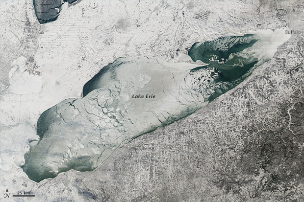 Great Lakes Nearly Freeze Over For First Time In Decades