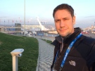 CTV National News reporter Peter Akman is shown in Sochi. (Peter Akman/CTV News)