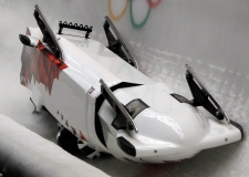 Canadian bobsled team crashes