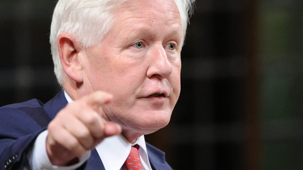 Liberal Interim Leader Bob Rae asks a question during question period in the House of Commons on Parliament Hill in Ottawa, on Tuesday, Sept. 20, 2011. (Sean Kilpatrick / THE CANADIAN PRESS)