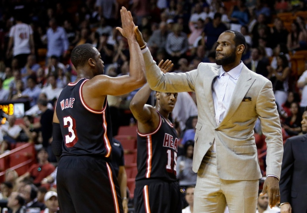 LeBron James sits out game due to injury