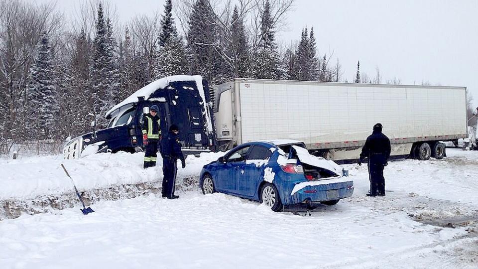 Fatal crash on Highway 400 near Highway 12