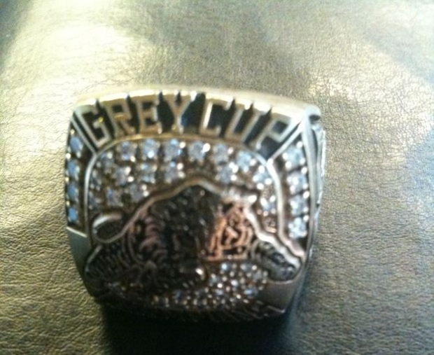 Grey Cup championship ring