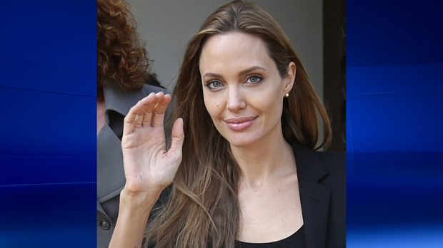 Angelina Jolie in Beirut, Lebanon