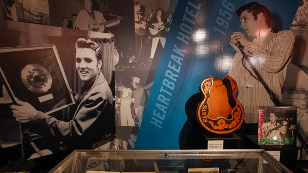 Elvis Presley exhibit