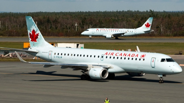 An Air Canada flight passes close to cause an air disaster