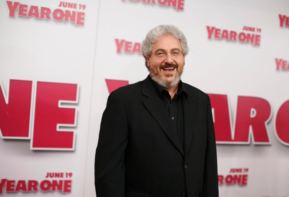"""Harold Ramis arrives for the world premiere of """"Year One"""" at Lincoln Square Monday, June 15, 2009 in New York. (AP Photo/Jason DeCrow)"""