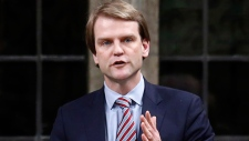 Chris Alexander speaks in the House of Commons