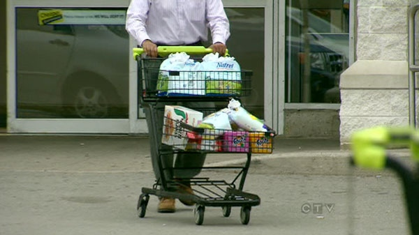 Canadians continue to feel the pinch at the pump and the supermarket as inflation rose 3.1 per cent in the month of August.