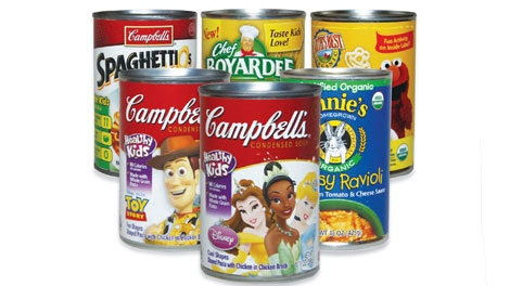 BPA in canned kids food