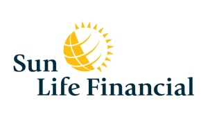 The corporate logo of Sun Life Financial Inc. (TSX:SLF) is shown. THE CANADIAN PRESS/HO