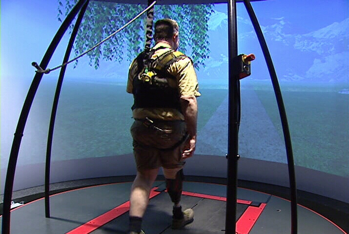 Neil Levette, virtual reality lab