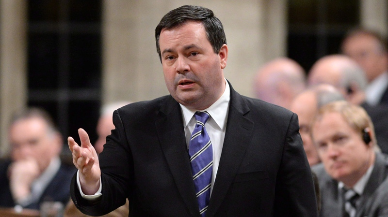 Minister of Employment and Social Development Jason Kenney responds to a question during Question Period in the House of Commons on Parliament Hill in Ottawa on Monday, December 9, 2013. (Sean Kilpatrick /THE CANADIAN PRESS)