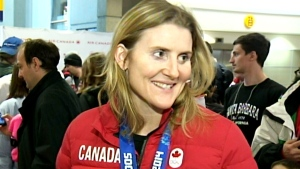 LIVE1: Canadian Olympians arrive from Sochi