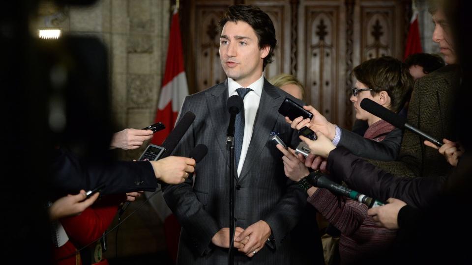 Trudeau apologizes for Russia hockey joke