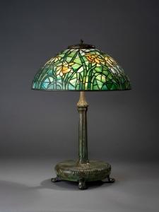"Tiffany ""Daffodil"" table lamp"