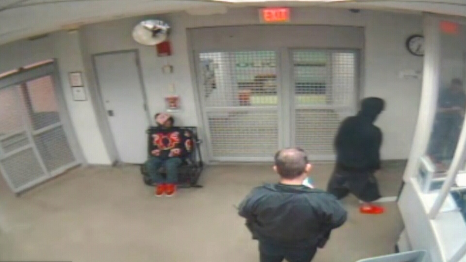 Video of Justin Bieber made at a South Florida police station after his January arrest shows him walking unsteadily during a sobriety test.