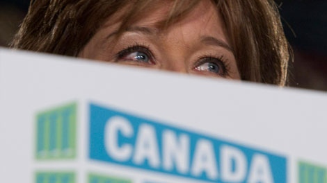 British Columbia Premier Christy Clark addresses the Vancouver Board of Trade in downtown Vancouver, B.C. Thursday, Sept. 22, 2011. Clark released her Canada Starts Here plan for creation of jobs in B.C. (THE CANADIAN PRESS/Jonathan Hayward)