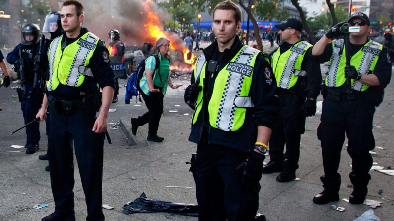 Stanley Cup riot, police, liquor