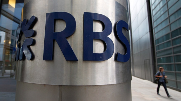 Royal Bank of Scotland in the City of London