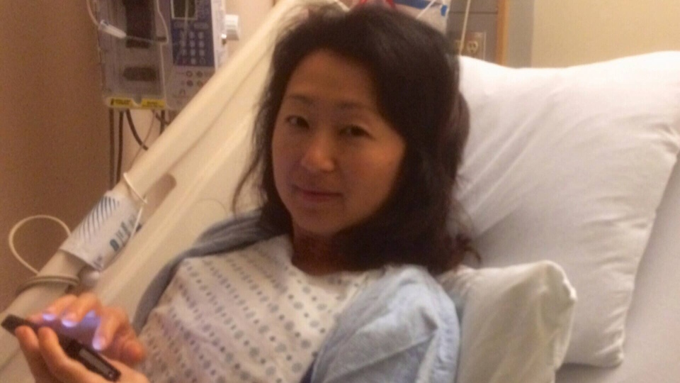 CTV reporter and anchor Mi-Jung Lee was diagnosed with breast cancer in 2013.