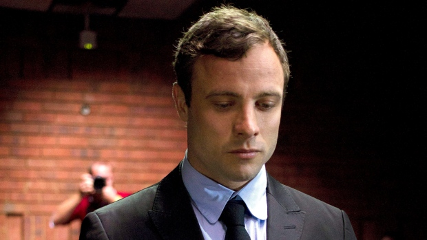 Video shows Pistorius shooting at gun range