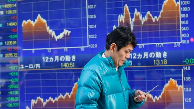 Asian markets down on Japan data