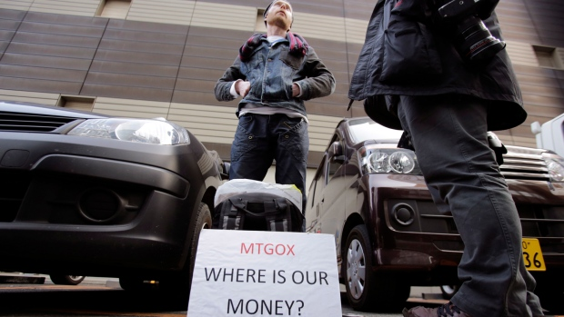 Mt. Gox bitcoin exchange files for bankruptcy