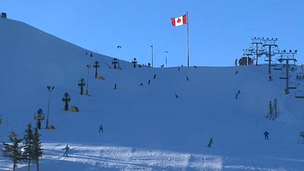 Winsport ski hills