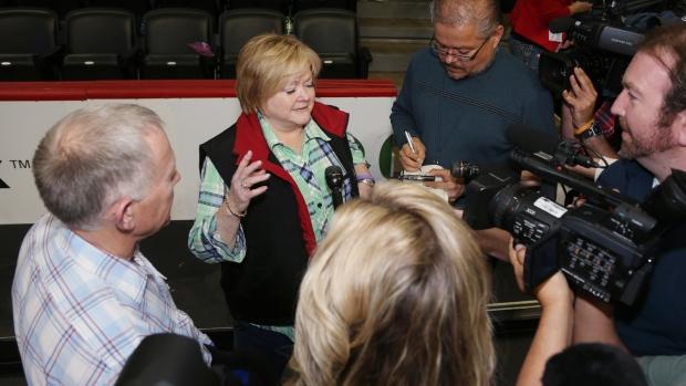 Jason Collins meets with Shepard parents
