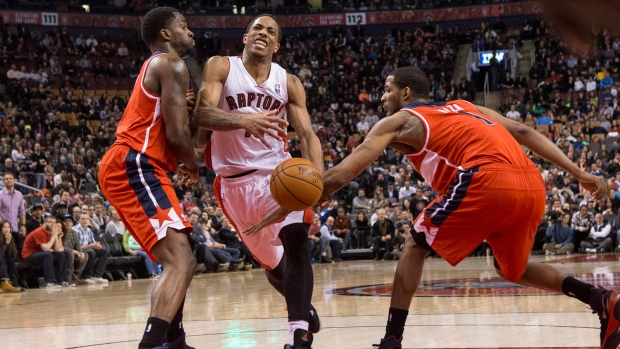 Raptors lose to Wizards in triple OT