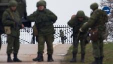 Unidentified gunmen in Crimea, Ukraine